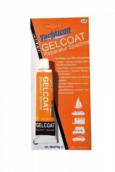 Gelcoat Reparatur Spachtel weiß 70 g